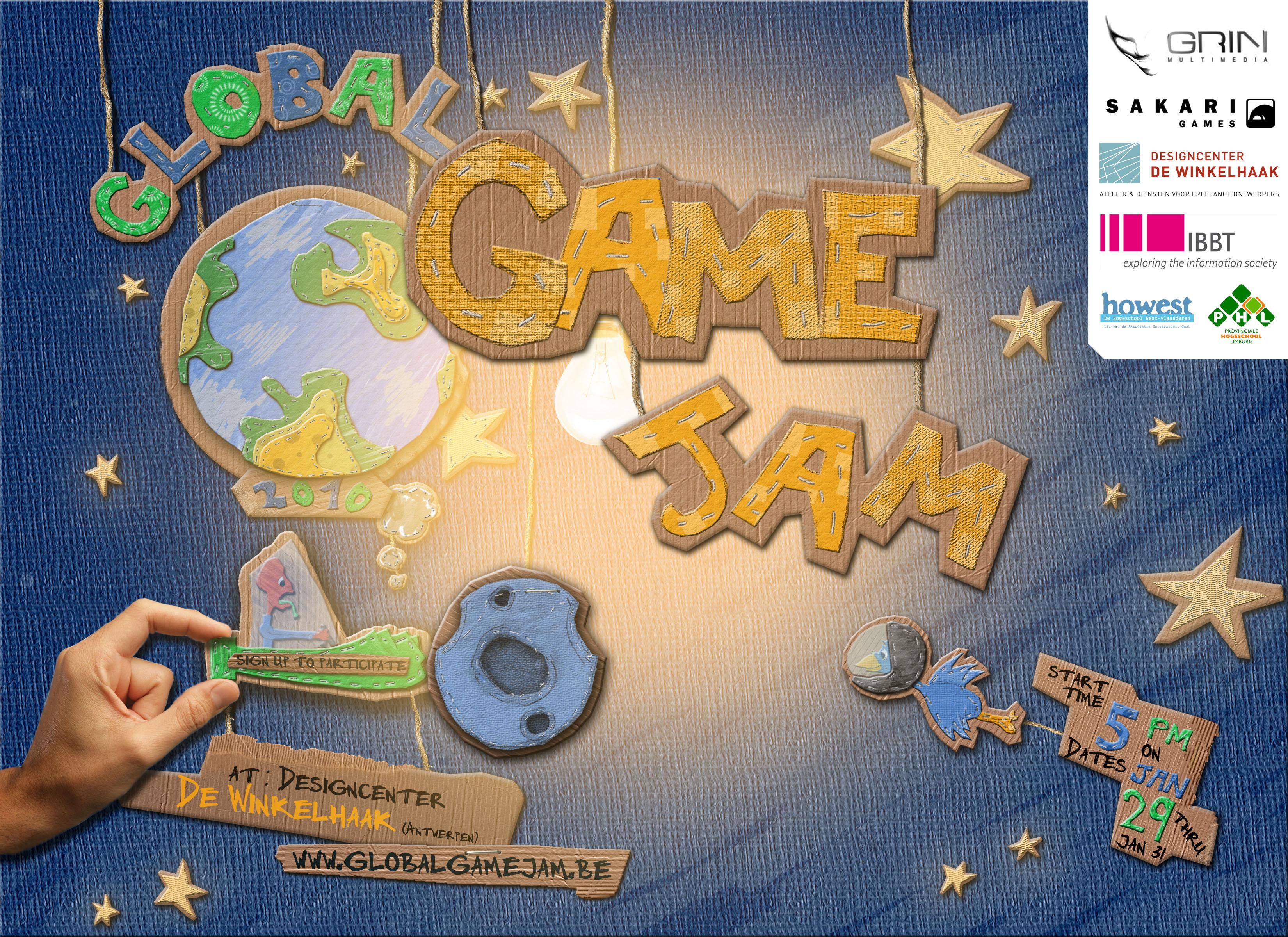 Global Game Jam 2010 Poster