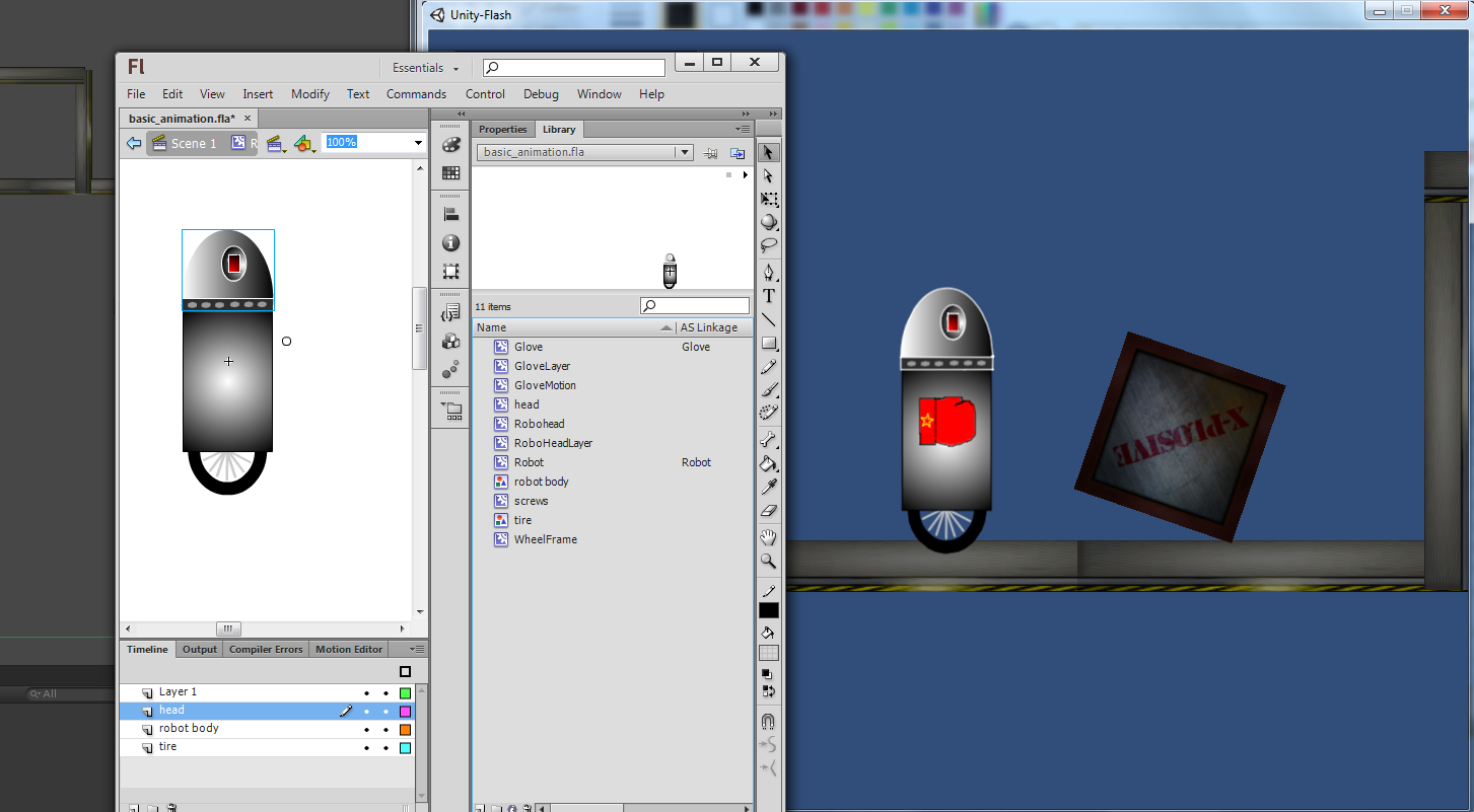 Using Iggy for Flash Animation in Unity3D - PreviewLabs