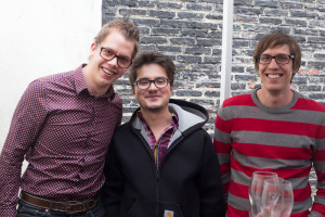 Part of the current PreviewLabs Dream Team, from left to right: Yentl, Andrei and Jannes.