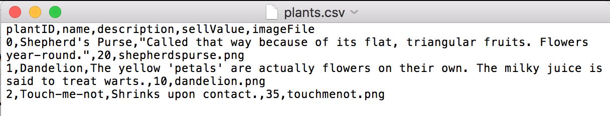 Using CSV Files - PreviewLabs