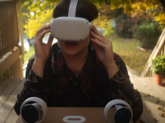 Testing Oculus Quest 2